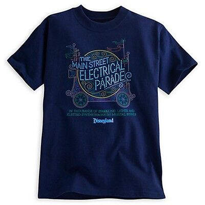 The Main Street Electrical Parade Tee Disneyland Limited Availability Large