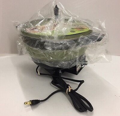 Oster Super Pan Complete Meal Maker Model 687 Avocado in Original Box