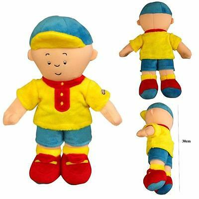"Cute 12"" Caillou Rosie Plush Toy Kids Stuffed Cartoon Figure Doll Toy Cute Toy"