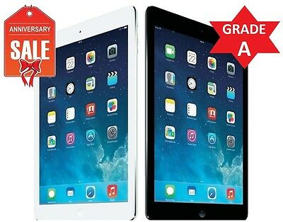 Apple iPad Air 1st 64GB WiFi 9.7in Retina Space Gray White Silver - GRADE A (R)