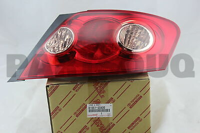 8155122A00 Genuine Toyota LENS, REAR COMBINATION LAMP, RH 81551-22A00