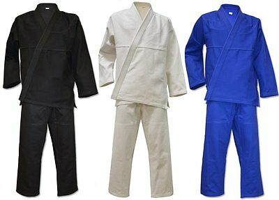 BJJ Gi Uniform Suit For Adults With Free White Belt