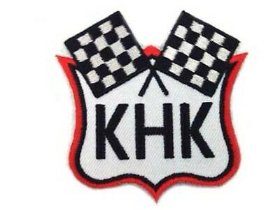 Harley Davidson KHK Motorcycle (Flags Patch)