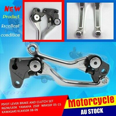 Brake Clutch Lever For Yamaha WR450F WR250F 2005-2015 Kawasaki KLX450R 2008 2009