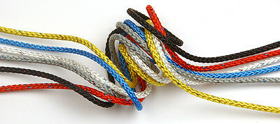5mm Marlow Ropes - 8 Plait Pre-Stretch - Red - Halyards/Control lines