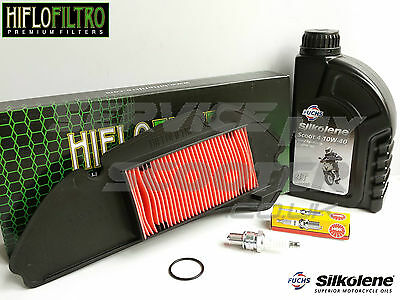 Honda Sh125 2001-2008 Hiflo Service Kit, Oil, Spark Plug, Air Filter
