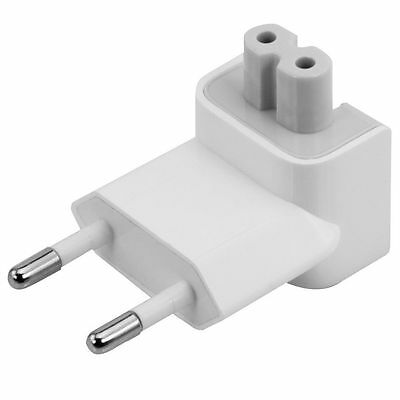 OEM Apple EURO EU Wall Plug Duckhead 10W 45W 60W 85W magsafe Power Adapter
