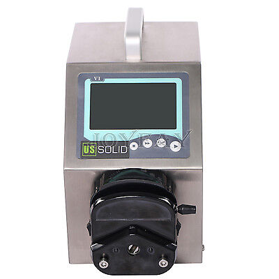 Peristaltic Pump Flow Type 0.007 - 570 ml/min per Channel 2 Channel U.S. Solid