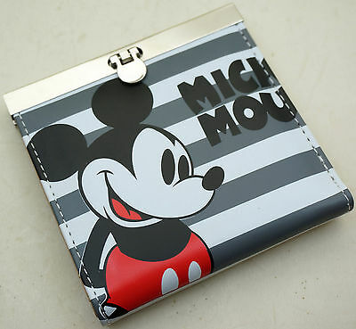Mickey Mouse Kids Boys Girls Faux Leather Bifold Purse Wallet