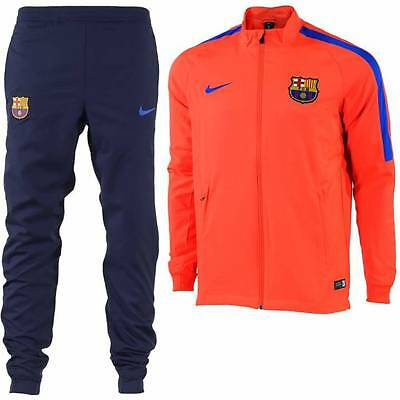Nike Barcelona Squad Woven Tracksuit 2016/17 - Red - Kids
