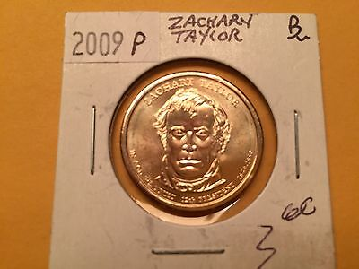 2009 P US Dollar Coin Zachary Taylor in BU Condition