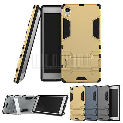 Rugged Shockproof Hybrid Armor Case Kickstand Cover For Sony Xperia Z5 Premium