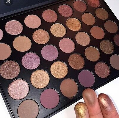 Free fast shipping MORPHE BRUSHES 35T Taupe AUTHENTIC Eyeshadow Palette BNIB
