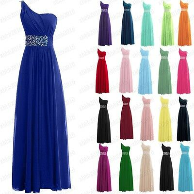 Long Chiffon Evening Gown Prom Cocktail Party Bridesmaid Formal Dresses 6-22