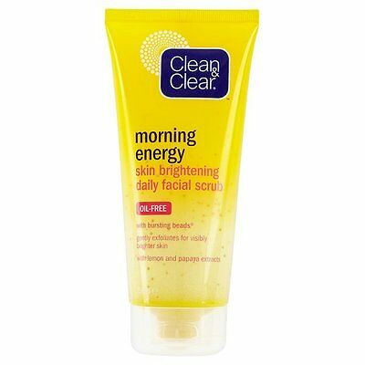 Clean & Clear Morning Energy Skin Brightening Daily Facial Scrub 150 ml