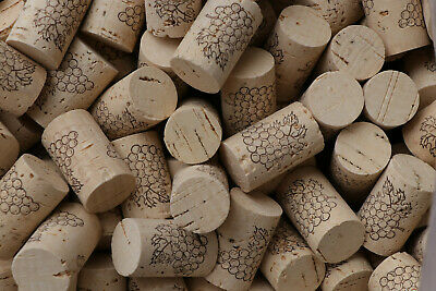 Natural Cork Stopper Bottling Home Brew Wine Making Corking Portugal  38x24mm
