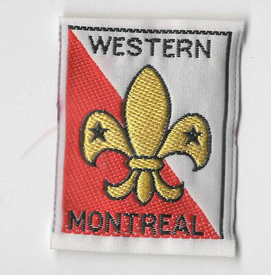 Scouts Canada Quebec - Western Montreal - District Badge Patch