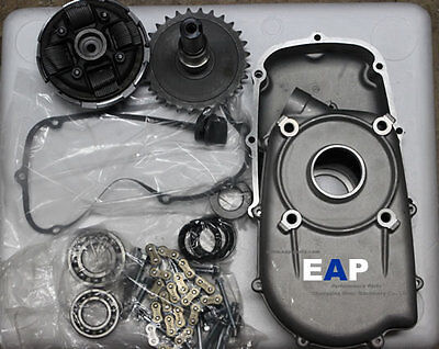 REDUCTION GEARBOX FITS GX390 2:1 WITH INTERNAL CLUTCH(Key shaft 25mm)
