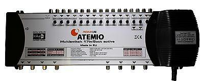 Atemio Premium Line 17 In 8 Out Multiswitch 2 Year Warranty Use With A Quad LNB