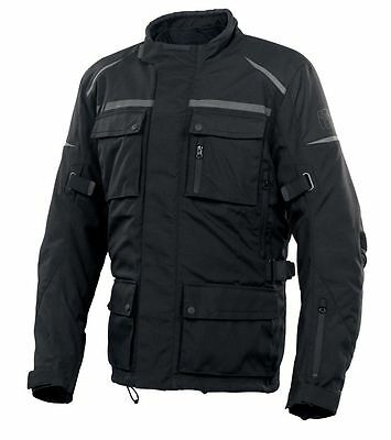 Bering Alias Gore-Tex Motorcycle Jacket Black Gtx-  Medium