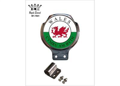 Royale Car Scooter Bar Badge - CYMRU AM BLYTH WALES  - B1.1541
