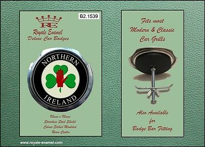 Royale Car Grill Badge & fittings - ULSTER NORTHERN IRELAND - B2.1539