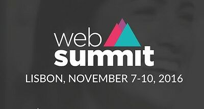Web Summit Ticket 2016 - Lisbon