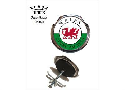 Royale Car Grill Badge & fittings - CYMRU AM BLYTH WALES - B2.1541