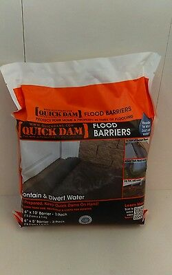 "Quick Dam Flood Barrier, 6"" x 10, 1-Pack"