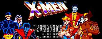 X-Men Konami Arcade Jamma PCB 2-Player Upgrade Kit