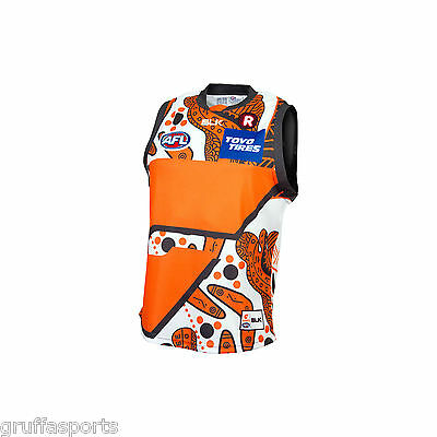GWS Giants Indigenous Guernsey Sizes Large - 3XL Greater Western Sydney BLK 6