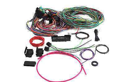 Hot Rod Eazy Wiring Loom 20 Circuit Mini Fuse Box Comlpete A To Z
