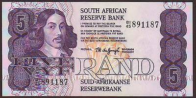 SOUTH  AFRICA  5 Rand  (1978-81)     UNC