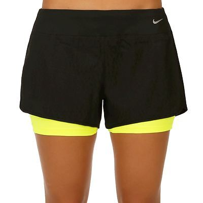 New Nike Circuit 2-In-1 Woven Women's Training Shorts/compression shorts/gym/run