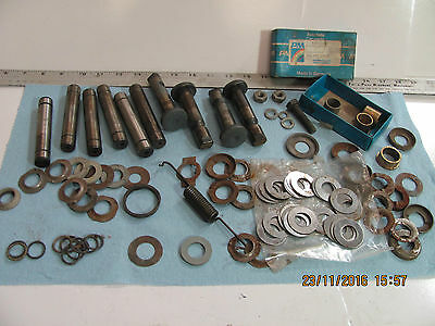 Porsche 356 ABC  king and link pin bushings drum brake disc suspension front end