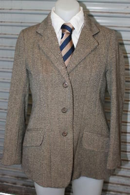 Shires Childs Tweed Hunter Jacket. Size 14