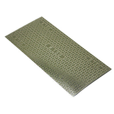 """Newest DMD Diamond Coated Honeycomb Replacement Sandpaper 150 Grit 7.8"""" x 4"""""""