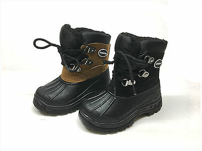 Brand New Toddler Boy's Waterproof Winter Snow Boots Size 6 - 11