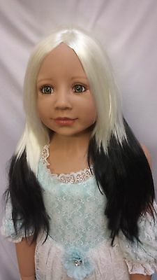 "NWT Monique Jade Panda Doll Wig 19 1/2"" fits Masterpiece Doll(WIG ONLY)"