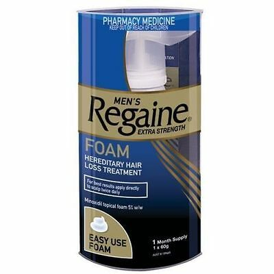 Regaine Mens Extra Strength Foam 1 Month Supply Hair Loss Minoxidil