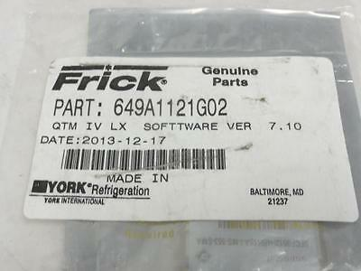 140688 New In Box, Frick 649A1121G02 QTM IV LX, Software Version 7.10