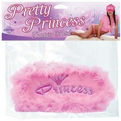 Mascherina Copri Occhi Rosa Pretty Princess Fantasy Mask