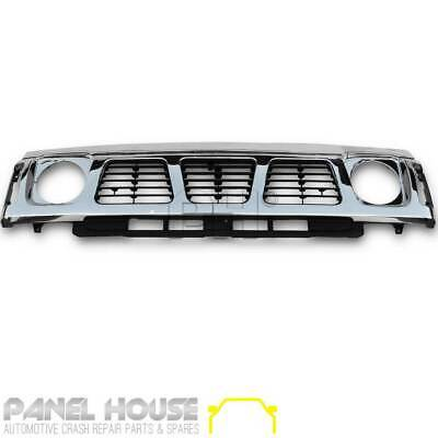 Nissan Patrol GQ Series 1 Y60 Grill 1988 - 1994 Chrome Front Replacement Grille