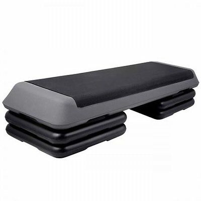 NEW Adjustable 3-level Stack Design Fitness Exercise Workout Aerobic Step Bench