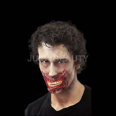 Woochie Chatter Mouth Latex Appliance Injury Wound - Halloween - Horror - Zombie