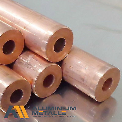 Copper pipe ø 20x6mm Length 600mm (33,17 €/m) Round tube Hollow bar CW024A