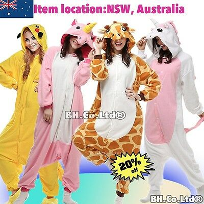 Adult Children Unisex Animal Cosplay Kigurumi Pajamas Costume Sleepwear Outfit