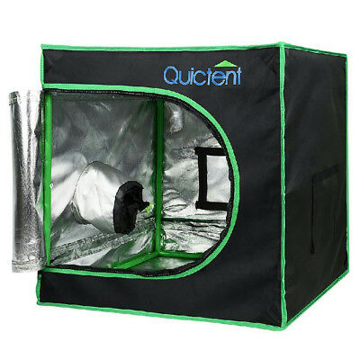 "Quictent 24""x24""x24"" Mini Reflective Mylar Hydroponic Grow Tent with Tool Bag"