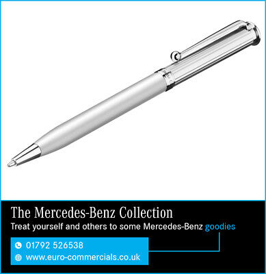 Genuine New Mercedes Benz Classic Silver Ballpoint Pen B66043352