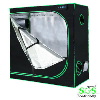 """Quictent 48""""x24""""x48"""" Reflective Mylar Hydroponic Grow Tent with Tool Bag"""